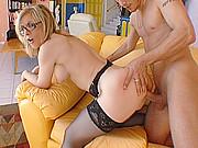 incest en famille avec une cougar salope